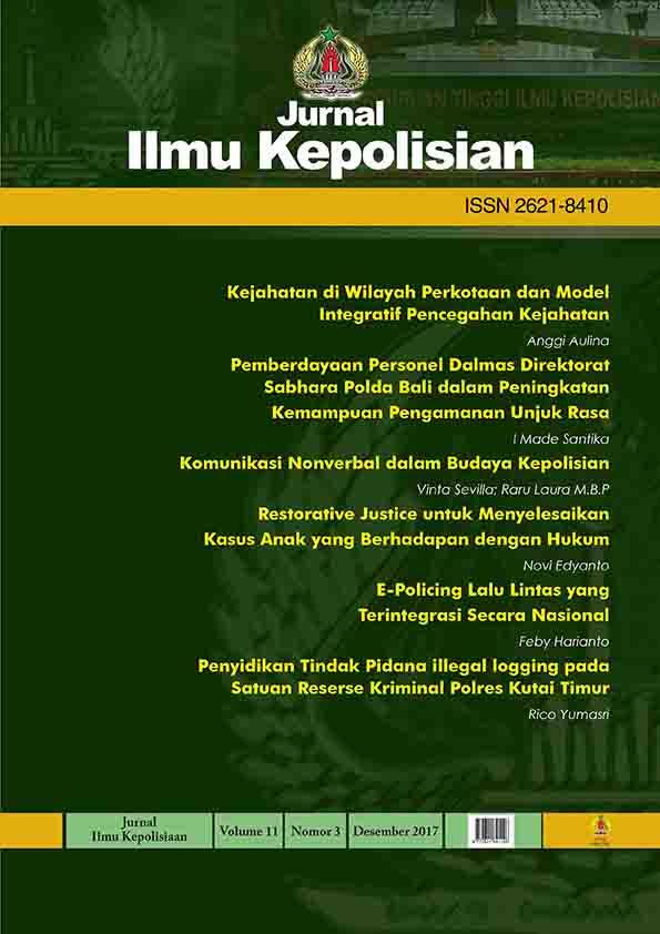 COVER JURNAL ILMU KEPOLISIAN_VOLUME11_NO.3.2017