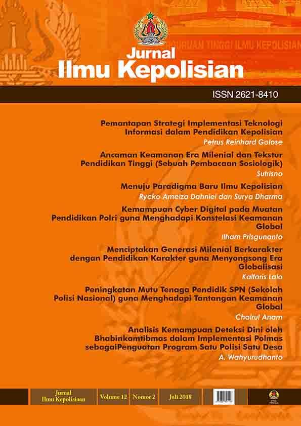 COVER JURNAL ILMU KEPOLISIAN_VOLUME12_NO.2